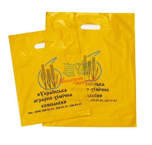 Пакет банан 30x40см ЖОВТИЙ